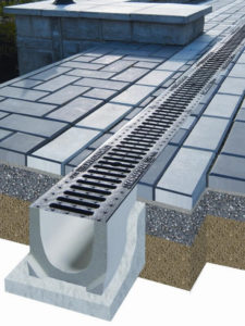 Ливневка из бетонных лотков